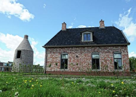 Historical fishermen house near NP Lauwersmeer, daytrip Schiermonnikoog