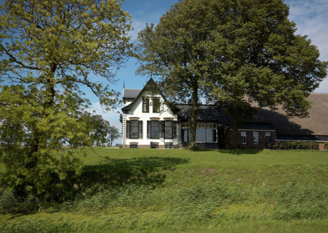 Listed farmhouse with indoor heated pool, sauna and jacuzzi