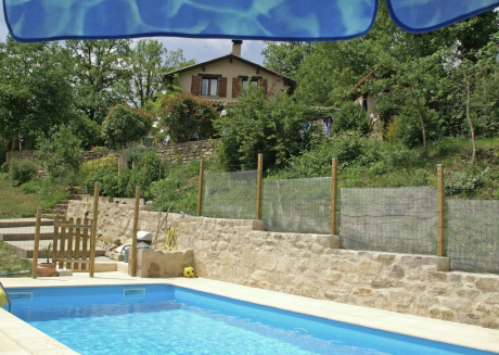 Holiday home in beautiful location with enormous private grounds, terrace.