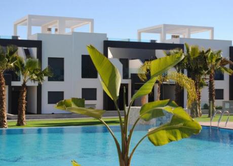 Apartment Oasisbeach 4, Ground Floor pool wiew