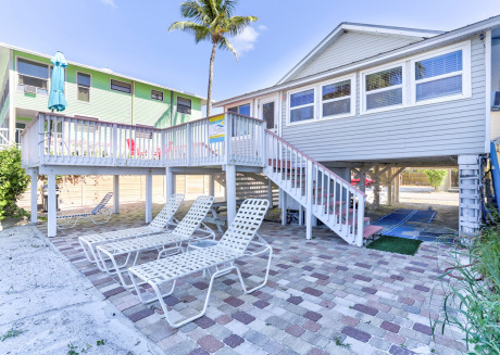 Margarita Cottage, our Key West style Beachfront North End Cottage