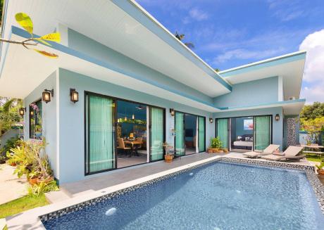 NewPrivate 3 Bedroom Villa with pool Baan