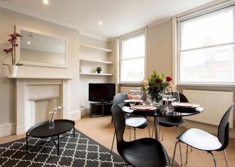 Marylebone Apartment near Marble Arch, Edgware Road & Oxford Street (RU/CL)