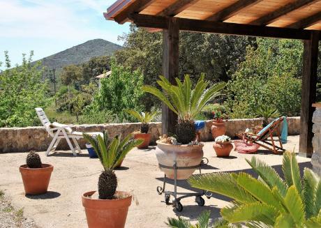 Villa Cycas on the top of the hillof Sperlonga