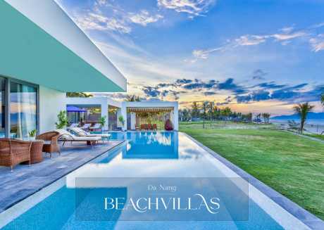 Brand New Beachfront Villa In Five-star Resort