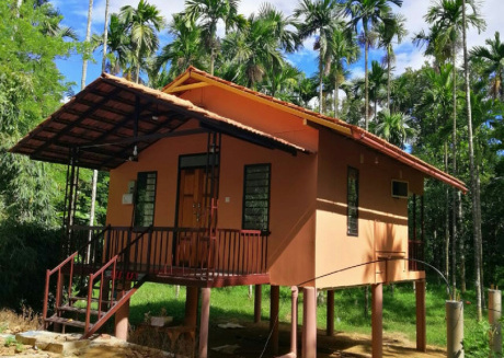 Family villa is a hut style accommodation
