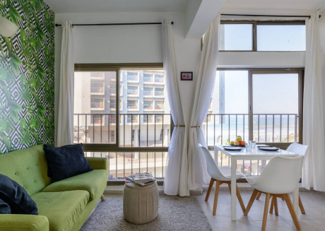 Sea View 2 bedroom Apartment Tel Aviv Hayarkon
