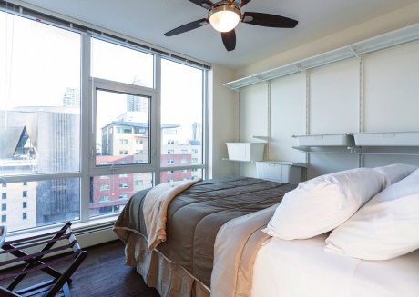 heart of Dt,a/c,stampede,dome,bmo,roof Patio,bbq,gym