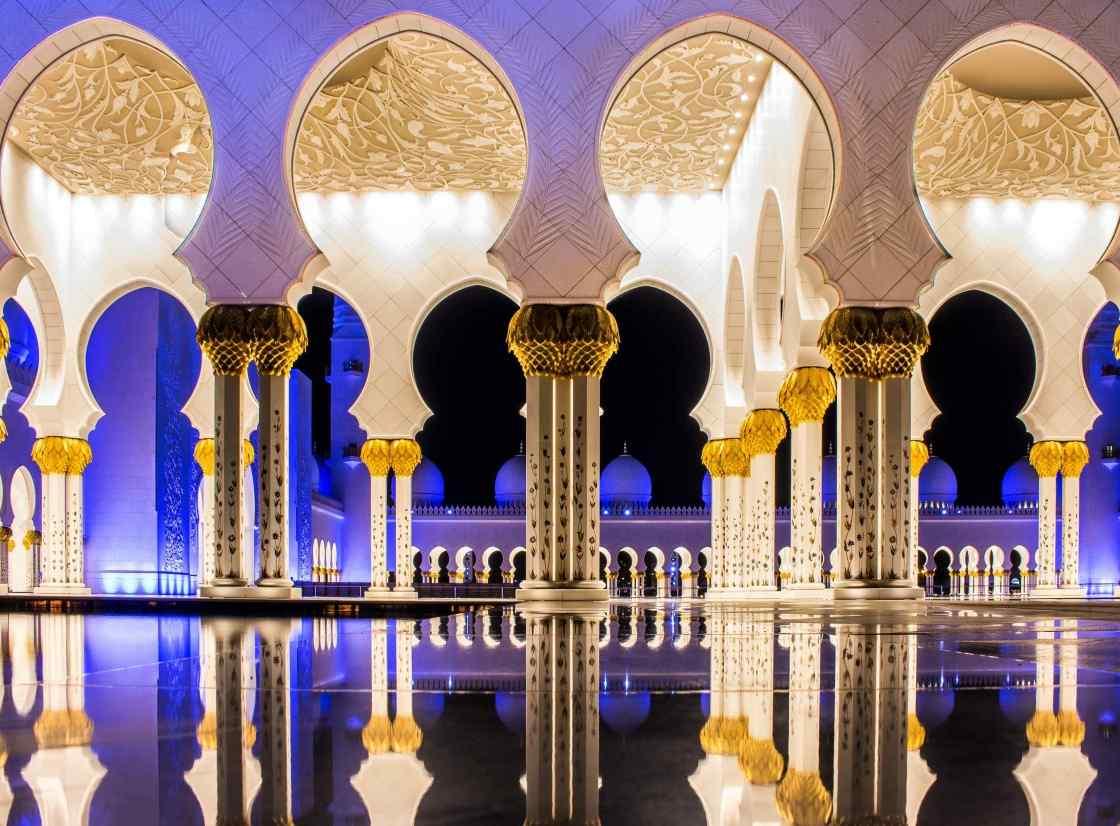 Abu Dhabi background image