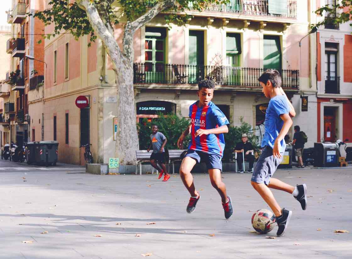 Barcelona background image