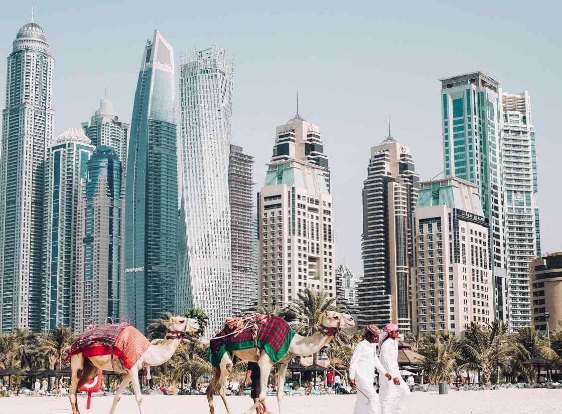 Dubai background image