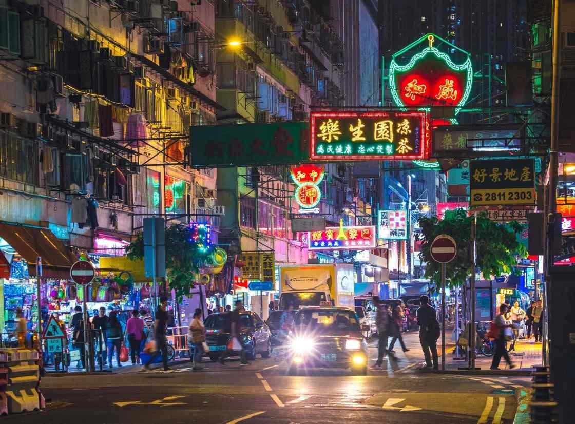 Hong Kong background image