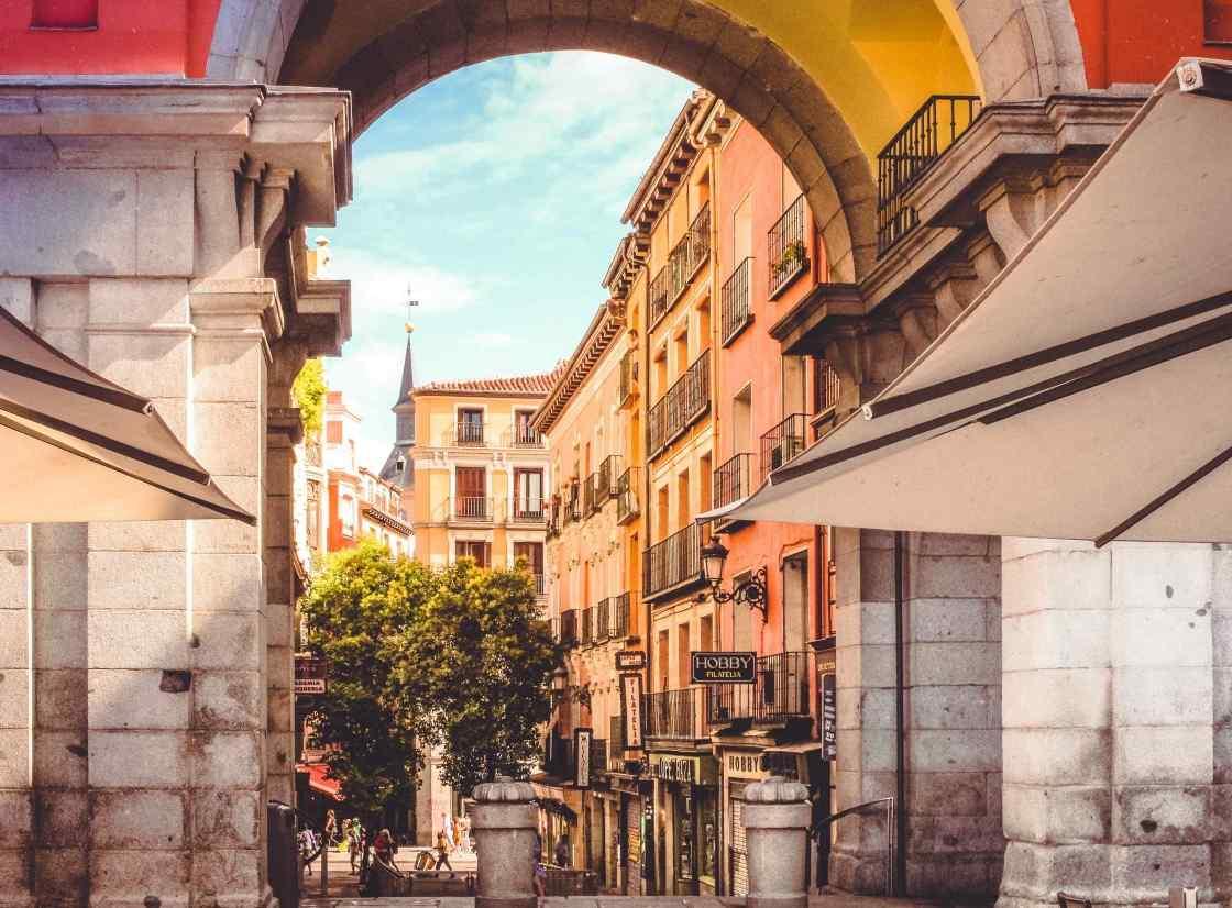 Madrid background image