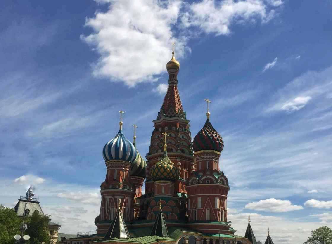Moscow background image