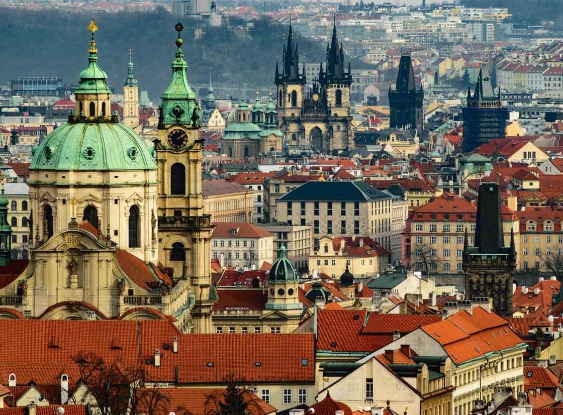 Prague background image